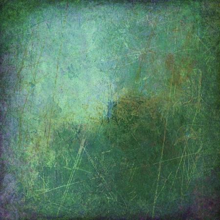 cuadro abstracto: arte abstracto - mano lienzos pintados - grunge fondo ambiental