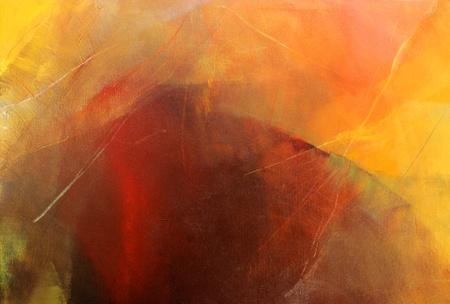 thin acrylic glazes on canvas photo