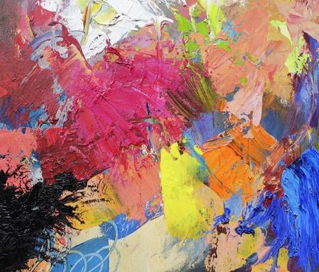 cuadro abstracto: arte abstracto - lienzos pintados a mano