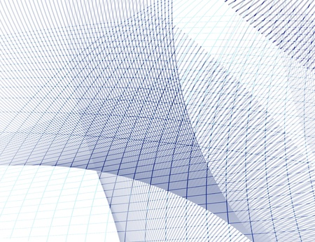 grid texture - blue and gray lines on white background Reklamní fotografie - 9510635