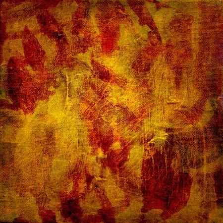oil paints: �leo en diferentes capas sobre lienzo