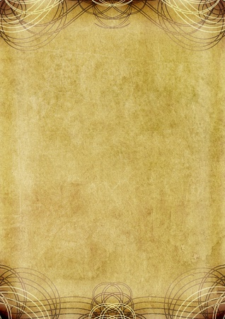 paper textures: vintage background with pattern - old paper grunge