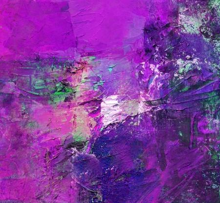 oil paints: acr�lico y �leo en diferentes capas