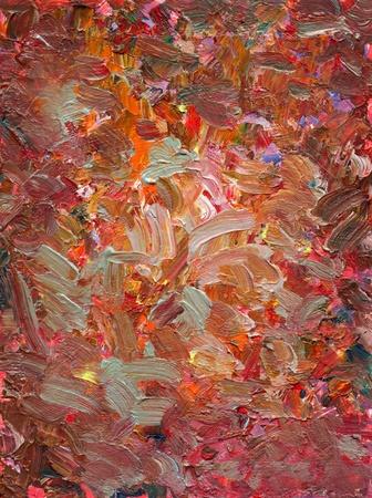 brushstrokes: analog painted background texture - brushstrokes