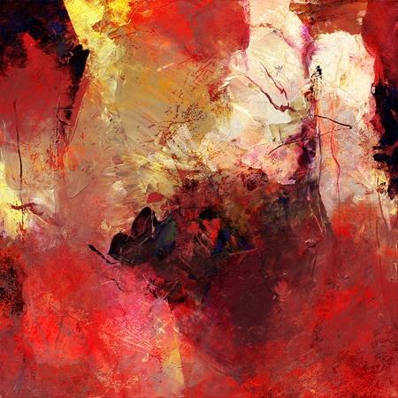 analoge geschilderde achtergrond, texturen toegevoegd digitaal