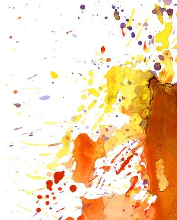 colorful paint splash background Stock Photo - 11145900