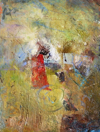 oil paints: pinturas al �leo y acr�licos sobre papel - T�cnica mixta