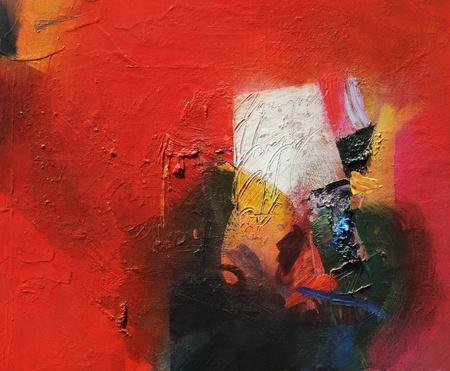 アナログの抽象絵画