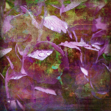analog painted background, textures added digitally photo