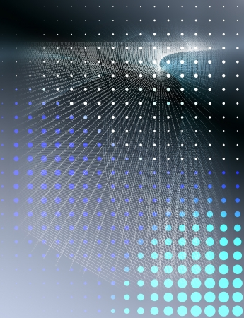 abstract background composite with binary pattern Stock fotó