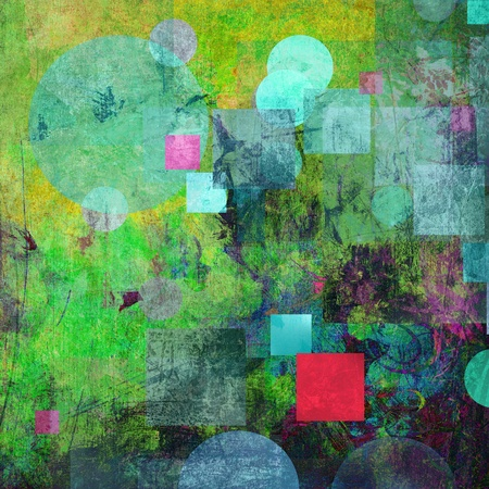 abstract painted background - created by combining different layers of paint photo