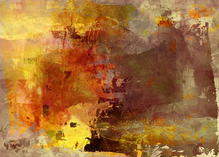 abstract painted background - created by combining different layers of paint Banco de Imagens