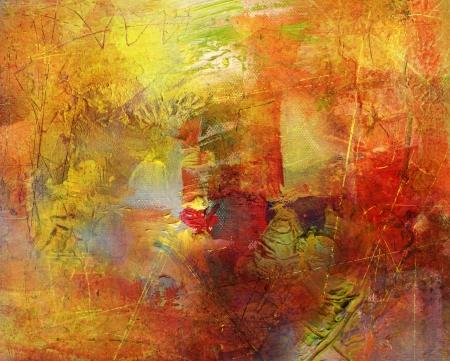 hand geschilderde achtergrond in verschillende kleuren en texturen