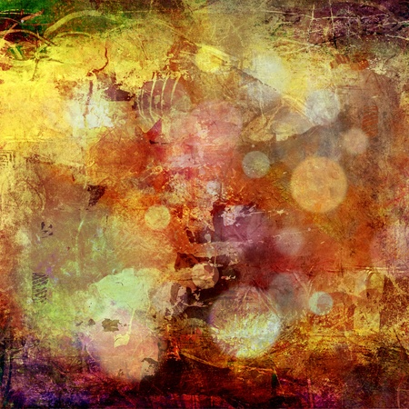abstract painted background - created by combining different layers of paint Stock Photo - 13509814