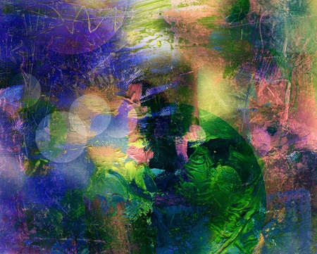 abstract painting - mixed media grunge Stock Photo - 13509816
