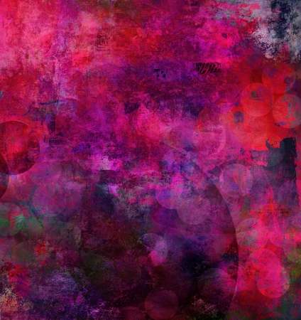 abstract painting - mixed media grunge