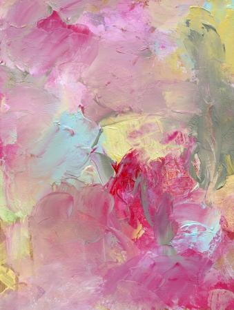 oil paints: pinturas al �leo sobre madera prensada de color beige Foto de archivo