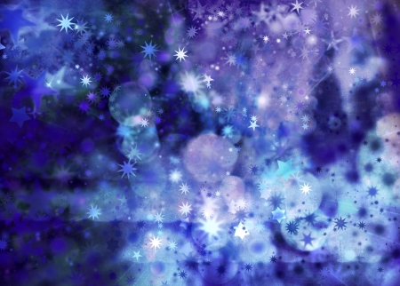 backgrounds texture: stars in different colors and shapes on textured background Stock Photo