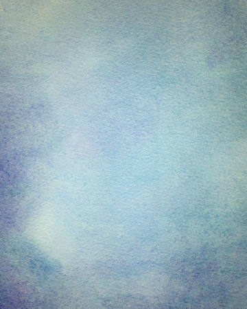 abstract light blue watercolor background photo