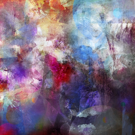 abstract geschilderde achtergrond - gecreëerd door het combineren van verschillende lagen verf