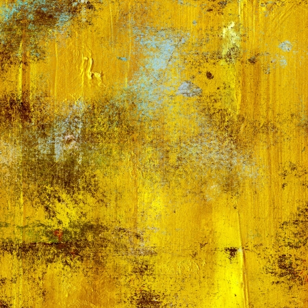 gold texture with cracked varnish surface photo