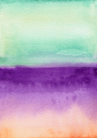 abstract colorful painted watercolor background photo