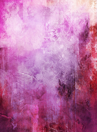 abstract mixed media - created by combining different layers of paint and textures