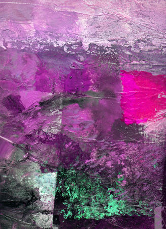 abstract multicolor layer artwork, opaque and transparent oil paint textures on canvas Reklamní fotografie