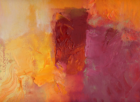 abstract multicolor layer artwork, opaque and transparent oil paint textures on canvas Banco de Imagens