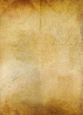 vellum: grungy old ocher paper background