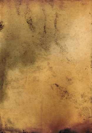 vellum: grungy old and stained paper background
