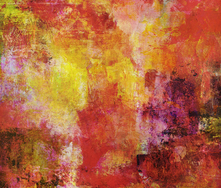 grunge textures: hand painted on canvas in different colors and textures