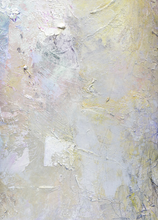 abstract layer artwork, opaque and transparent oil paint textures on canvas