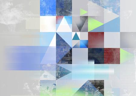 textures: abstrakte geometrische Business-Konzept Illustration in verschiedenen Farben, Texturen und Muster