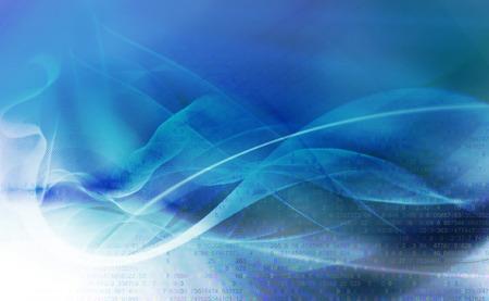textures: abstrakte Bewegung Wellen und glatte Kurven auf blauem Hintergrund unscharf mit zusätzlichen Zahlen Textur