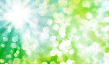 colours tints: abstract sunny nature background with transparent circles and dots pattern Stock Photo