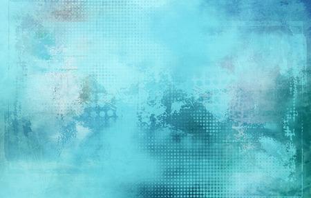 forme: fond abstrait avec des formes et des textures bleu clair Banque d'images