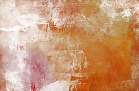 artwork: abstract decorative contemporary mixed media artwork Stock Photo