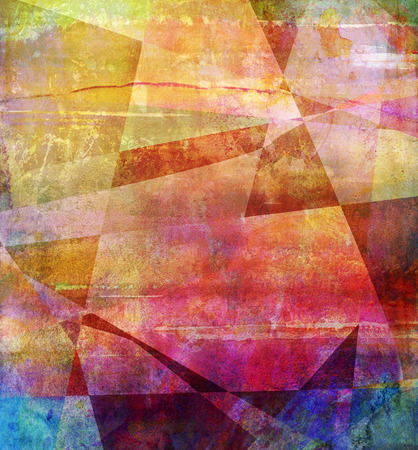 abstract rainbow: abstract rainbow multicolor paint texture layer artwork