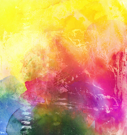 bright paintings: abstract rainbow multicolor paint texture layer artwork
