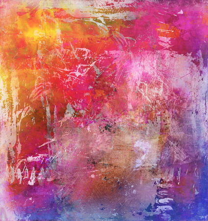 artwork: abstract rainbow multicolor paint texture layer artwork