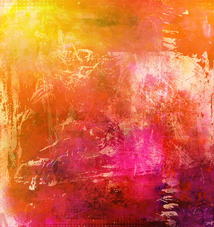 artwork: abstract multicolor paint texture layer artwork
