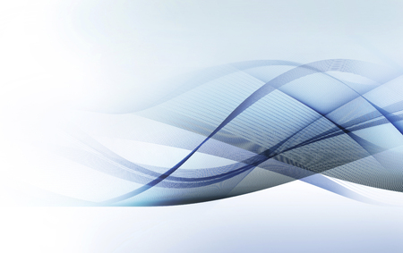 light abstract: abstract light blue and gray motion lines on white background Stock Photo