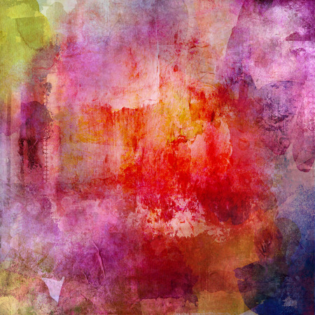 abstract multicolor paint texture layer artwork