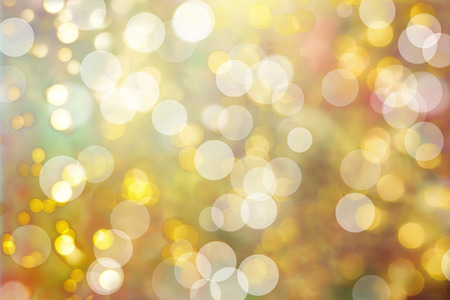 pastel colour: defocused bokeh christmas lights background in different pastel colors and circle shapes