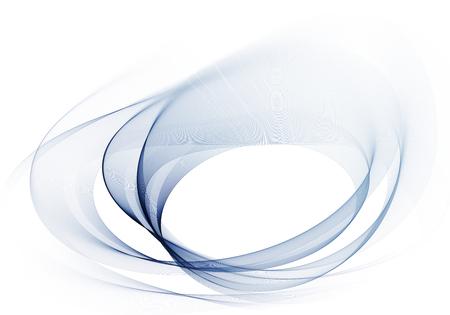 abstracte licht blauw en grijs beweging lijnen op witte achtergrond