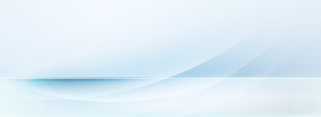 blue lines: abstract light blue and white motion lines on blurred light blue horizontal background banner