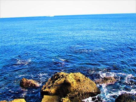 Said to the blue sea