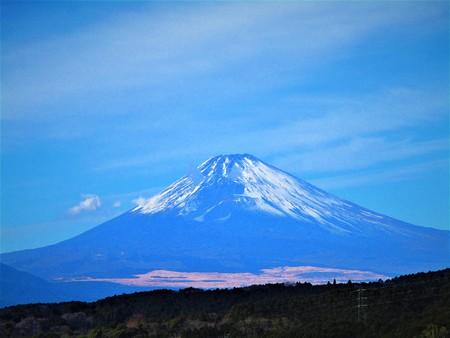 Mt. Fuji and the sky 版權商用圖片