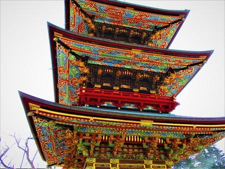 Narita-San shinsho-ji Temple five-story pagoda